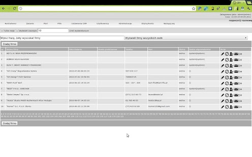 Z15 CRM - CRM sys for business- screenshot thumbnail