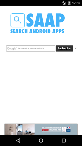SAAP Search Android Apps