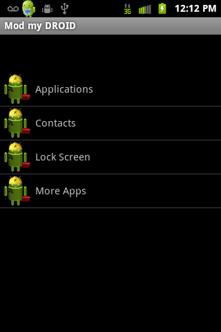 Mod My Android - screenshot