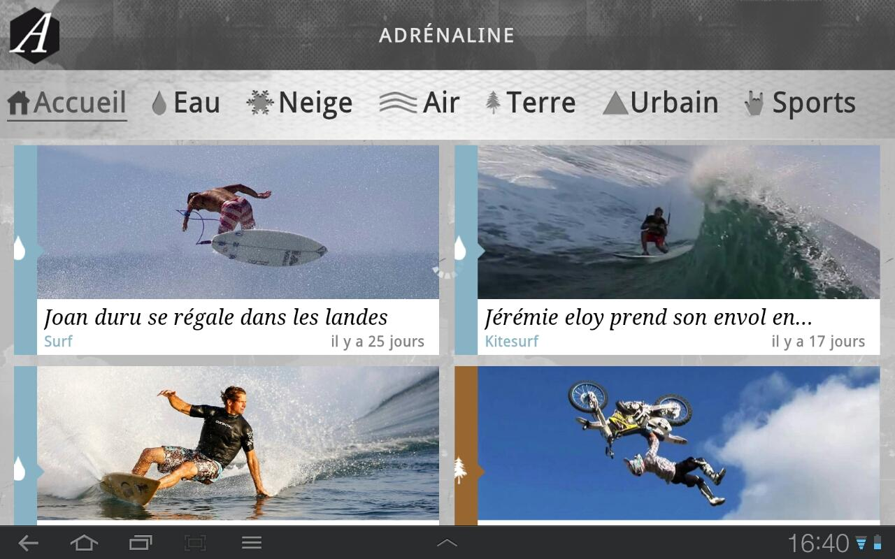 Adrenaline - screenshot