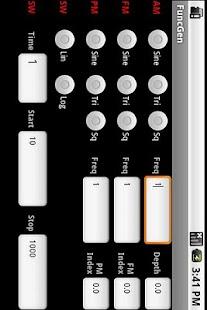 FuncGen Signal Generator- スクリーンショットのサムネイル