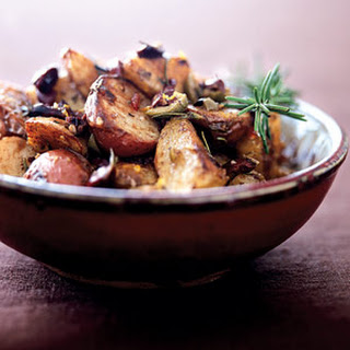 Roasted Potatoes with Citrus-Spiked Tapenade