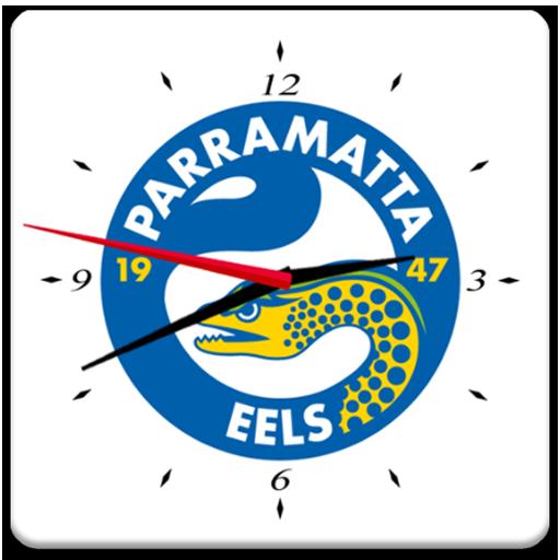 Parramatta Eels Analog Clock