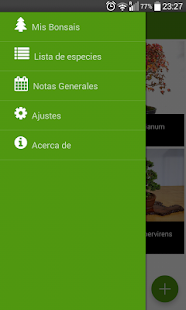 Bonsai Collection Gratis: miniatura de captura de pantalla