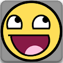 The Emoticon App =) logo