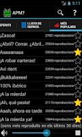 Screenshot of APM?