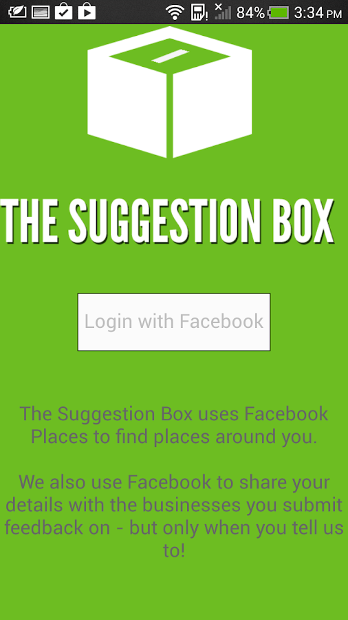 The Suggestion Box - screenshot