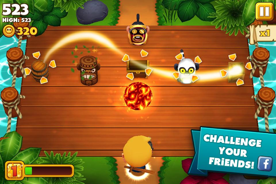 Tiki Monkeys - screenshot