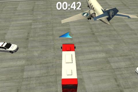 Airport Bus Parking 3D
