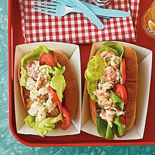 Low-Fat Lobster Rolls.