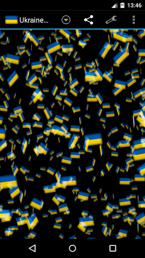 Ukraine Storm 3D Wallpaper