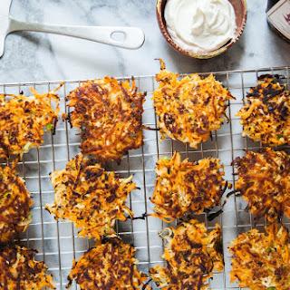 Sweet Potato and Turnip Latkes
