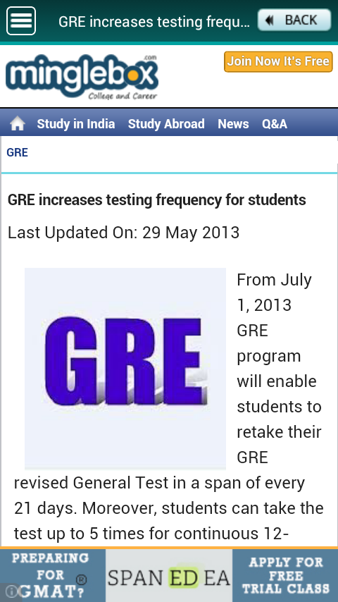 GRE Prep - screenshot
