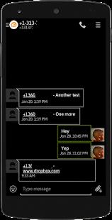 EvolveSMS BlackedOut Hangouts