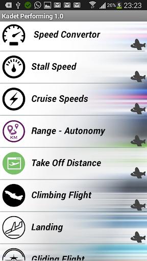 Kadet Flight Performance KFP