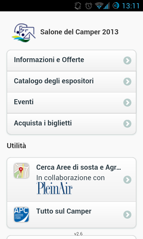 Salone del Camper- screenshot