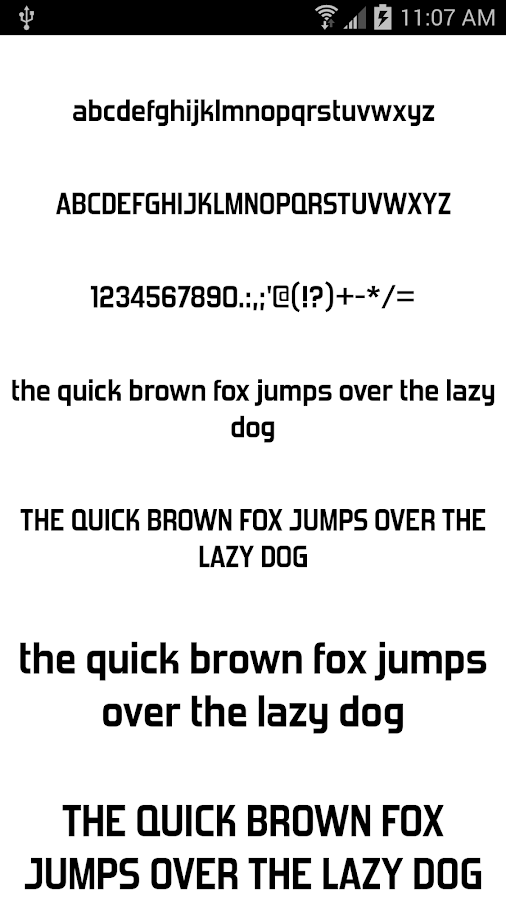 Download Fonts for FlipFont 50 #6 - Android Apps on Google Play