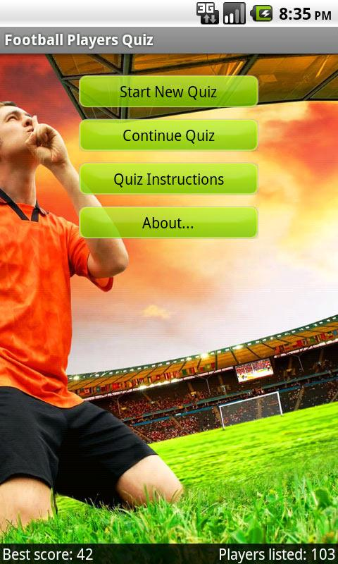 Football Players Quiz- screenshot