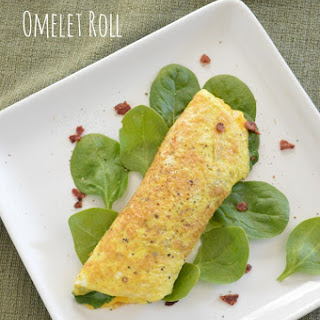 Breakfast Omelet Roll