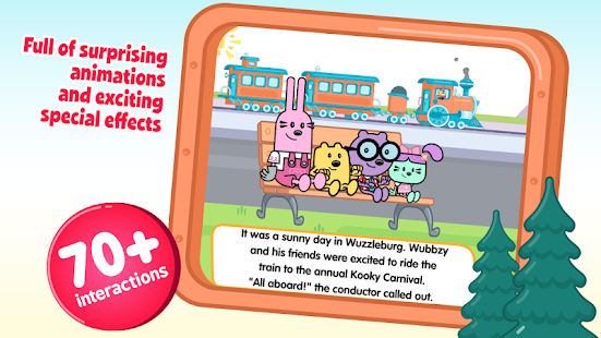 Wubbzy's Train Adventure- screenshot thumbnail