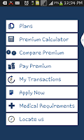 Screenshot of LICMobile