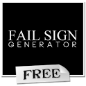 Demotivational Sign Creator icon