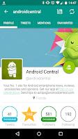 Screenshot of TweetComb for Twitter