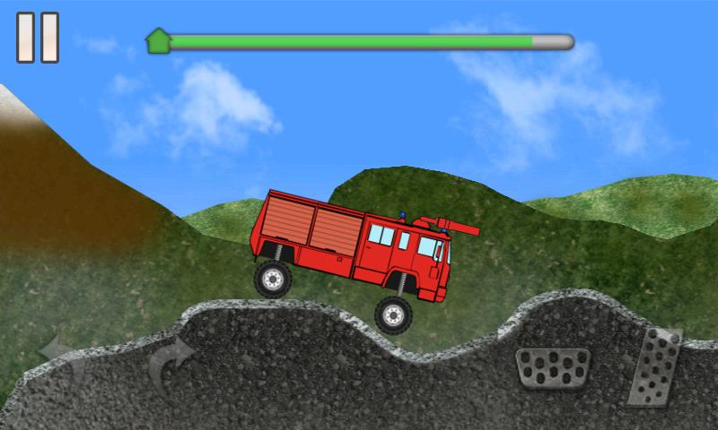 Fire Trucker - screenshot