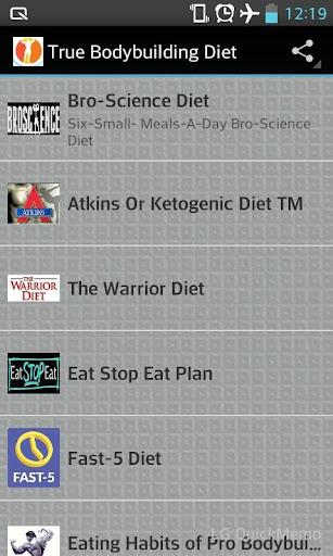 Bodybuilding Diet Plans