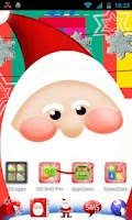 Screenshot of GO Launcher EX Santa Claus