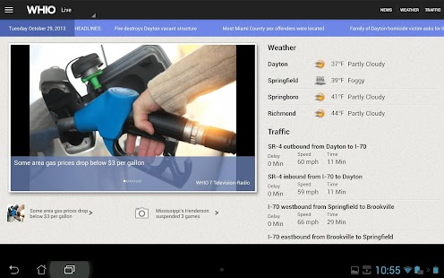 WHIO for tablets - screenshot thumbnail
