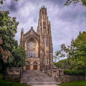Basilica of Christ the King by Jack Brittain - Buildings & Architecture Places of Worship ( building, sky, church, canada, hamilton, ontario, architecture, panorama )