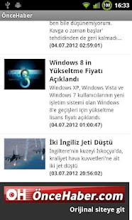 ÖnceHaber- screenshot thumbnail