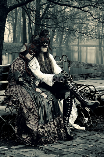 Gothic couple by franky go people couples cosplay fashion gothic vampire