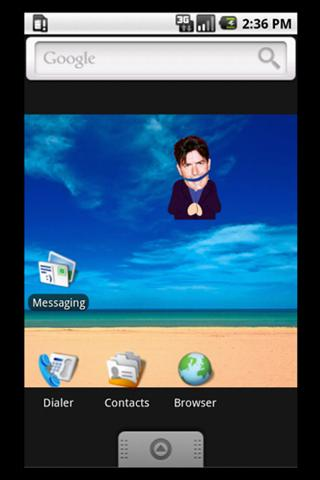 Charlie Sheen Widget!- screenshot