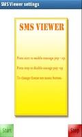 Screenshot of SMS PopUp