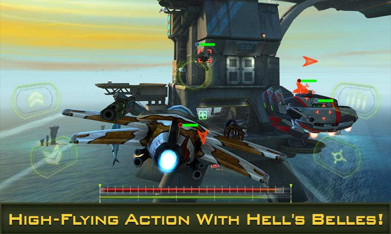 BOMBSHELLS: HELL'S BELLES- screenshot