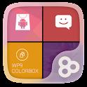 Color Box GO Live Theme (Red) icon