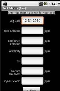 Pool Advisor (free)- screenshot thumbnail