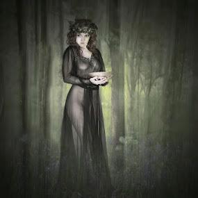 Goddess Of The Woods by Joan Blease - Digital Art People