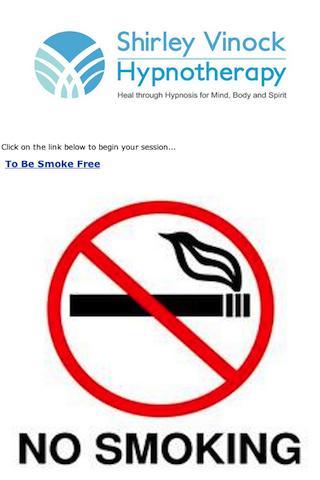 To Be Smoke-Free Hypnosis