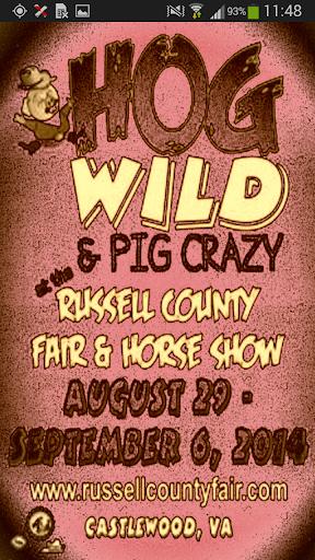 Russell Co Fair Horse Show