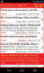 Kansas City Football News - screenshot thumbnail
