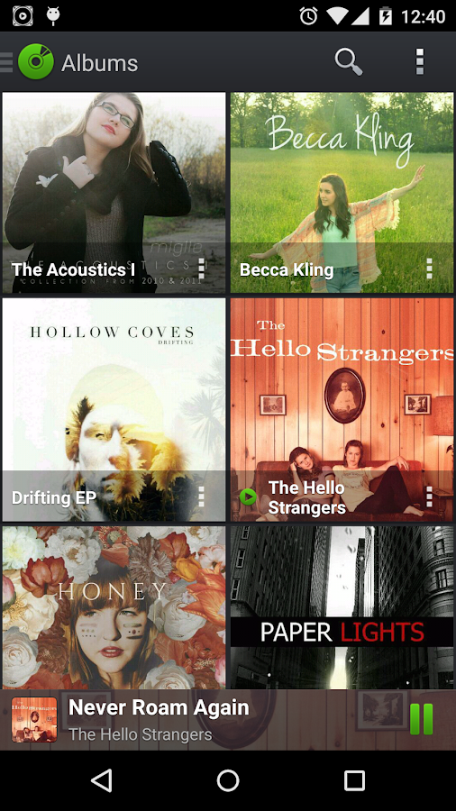PlayerPro Music Player Trial- screenshot