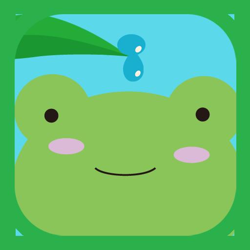 【シンプルゲーム】かえるDEたいむ LOGO-APP點子