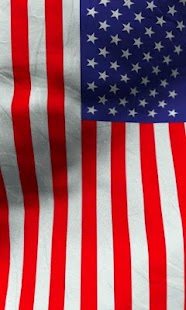 American flag live wallpaper - screenshot thumbnail