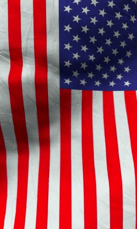 American flag live wallpaper- screenshot