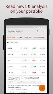 Seeking Alpha - screenshot thumbnail