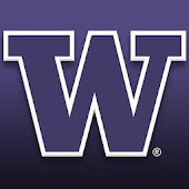 Washington Huskies Clock