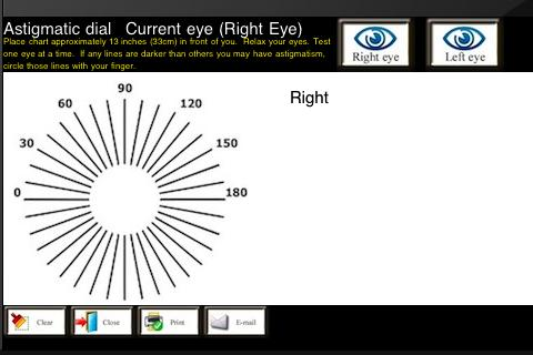eyeTestsDroid- screenshot